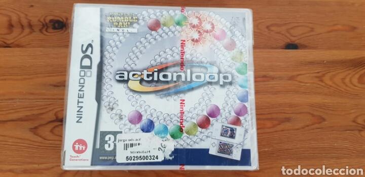 NINTENDO DS NDS JUEGO ACTIONLOOP + RUMBLE NUEVO VERSIÓN ESPAÑOLA (Juguetes - Videojuegos y Consolas - Nintendo - DS)