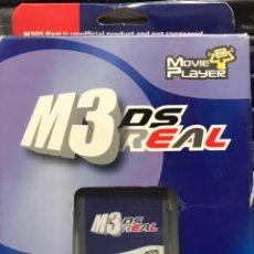 Videojuegos y Consolas: ADAPTADOR TARJETA M3 REAL CONSOLA NINTENDO DS - MEMORY CARD JUEGO MOVIE PLAYER. Lote 233396615