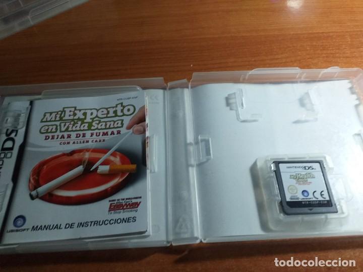 Videojuegos y Consolas: MI EXPERTO EN VIDA SANA DEJAR DE FUMAR NINTENDO DS PL ESP - Foto 2 - 233908365