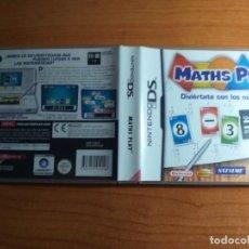 Videojuegos y Consolas: MATHS PLAY DIVIERTETE CON LOS NUMEROS MATH MATEMATICAS NDS NINTENDO DS. Lote 233908660