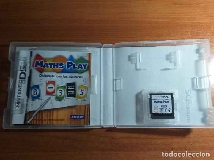 Videojuegos y Consolas: MATHS PLAY DIVIERTETE CON LOS NUMEROS MATH MATEMATICAS nds nintendo ds - Foto 2 - 233908660