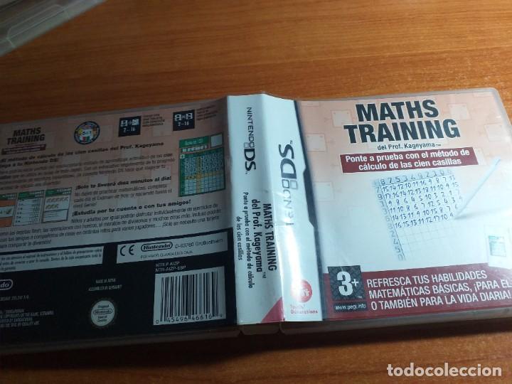 MATHS TRAINING NINTENDO DS (Juguetes - Videojuegos y Consolas - Nintendo - DS)