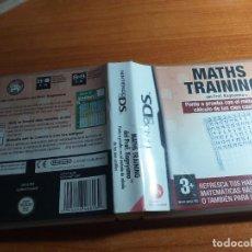 Videojuegos y Consolas: MATHS TRAINING NINTENDO DS. Lote 233909045