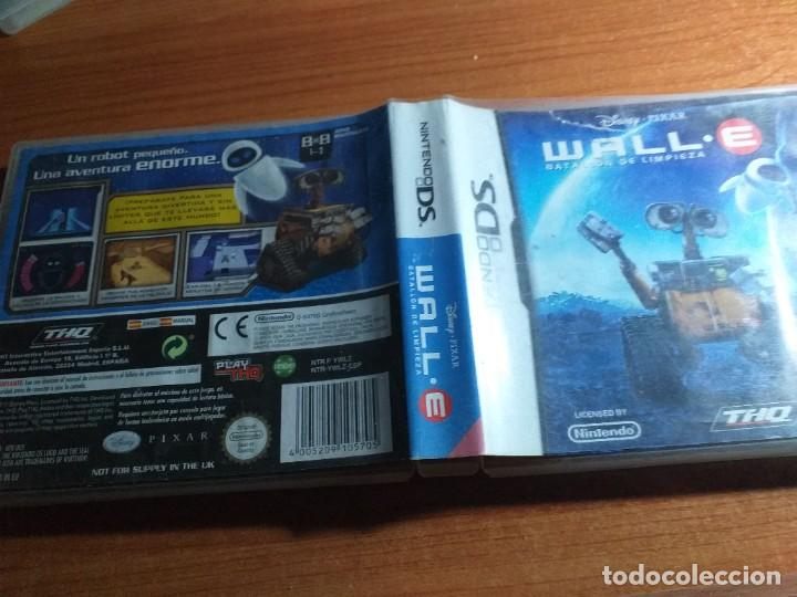 DISNEY PIXAR WALLE WALL E WALL.E NDS NINTENDO DS (Juguetes - Videojuegos y Consolas - Nintendo - DS)