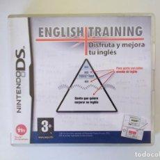 Videojuegos y Consolas: ENGLISH TRAINING NINTENDO DS SIN JUEGO. Lote 235283700