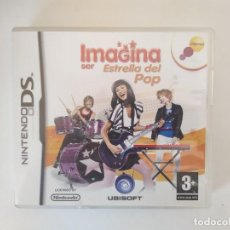 Videojuegos y Consolas: IMAGINA SER ESTRELLA DEL POP NINTENDO DS SIN JUEGO. Lote 235283860