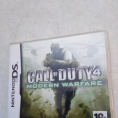 Videojuegos y Consolas: JUEGO NINTENDO DS CALL OF DUTY 4, MODERN WARFARE. Lote 235372255