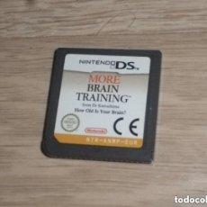 Videojuegos y Consolas: NINTENDO DS NDS JUEGO MÁS BRAIN TRAINING. Lote 235826700