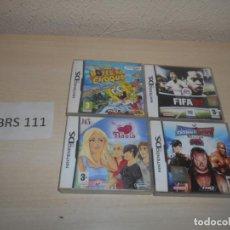 Videojuegos y Consolas: PACK DE 4 JUEGOS VARIADOS. Lote 236184025