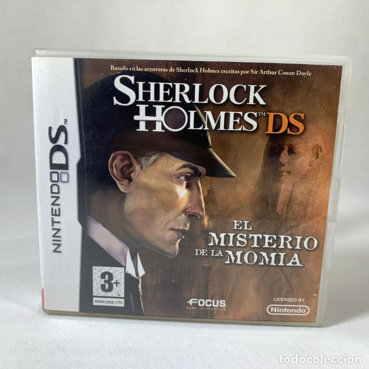 VIDEOJUEGO NINTENDO DS - SHERLOCK HOLMES - EL MISTERIO DE LA MOMIA + CAJA + INSTRUCCIONES (Juguetes - Videojuegos y Consolas - Nintendo - DS)