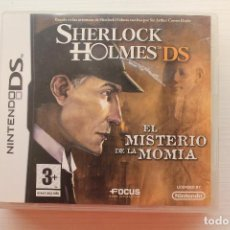 Videojuegos y Consolas: SHERLOCK HOLMES, EL MISTERIO DE LA MOMIA, NINTENDO DS, FUNCIONA. Lote 239562840