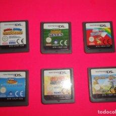 Videojuegos y Consolas: JUEGOS NINTENDO DS. Lote 243456480