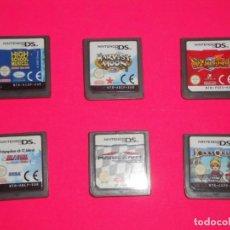 Videojuegos y Consolas: JUEGOS NINTENDO DS. Lote 243456655