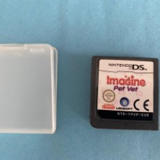 Videojuegos y Consolas: JUEGO ORIGINAL NINTENDO DS IMAGINE PET VET. GAMEBOY. VIDEOJUEGO. UBISOFT. Lote 39252742