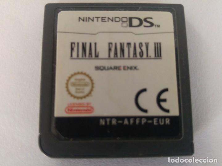 FINAL FANTASY 3 III NDS NINTENDO DS PAL-EUROPA (Juguetes - Videojuegos y Consolas - Nintendo - DS)