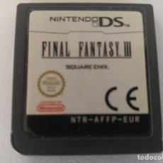 Videojuegos y Consolas: FINAL FANTASY 3 III NDS NINTENDO DS PAL-EUROPA. Lote 246214390