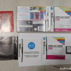 Videojuegos y Consolas: ARKANOID DS NINTENDO DS NDS COMPLETO PAL-ESPAÑA PAL-ITALIA ORIGINAL 100 %. Lote 246370130