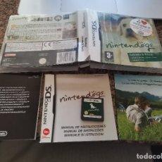Videojuegos y Consolas: OCASION COLECCIONISTA JUEGO COMPLETO CAJA MANUALES NINTENDO DS DOGS EDICION VERDE LABRADOR & FRIENDS. Lote 246528370