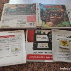 Videojuegos y Consolas: OCASION COLECCIONISTAS JUEGO COMPLETO CAJA MANUAL NINTENDO DS DONEKY KONG COUNTRY 3DS. Lote 246553370