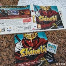 Videojuegos y Consolas: OCASION COLECCIONISTAS JUEGO COMPLETO CAJA MANUAL NINTENDO DS SHINOBI 3DS. Lote 246560750