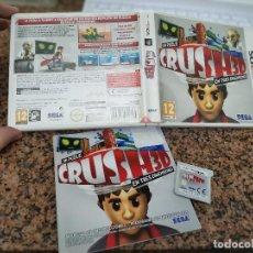 Videojuegos y Consolas: OCASION COLECCIONISTAS JUEGO COMPLETO CAJA MANUAL NINTENDO DS CRUSH 3D 3DS UN PUZLE. Lote 246561325