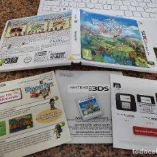 Videojuegos y Consolas: OCASION UNICA COLECCIONISTAS JUEGO COMPLETO CAJA MANUAL NINTENDO DS FANTASY LIFE 3DS. Lote 246562310