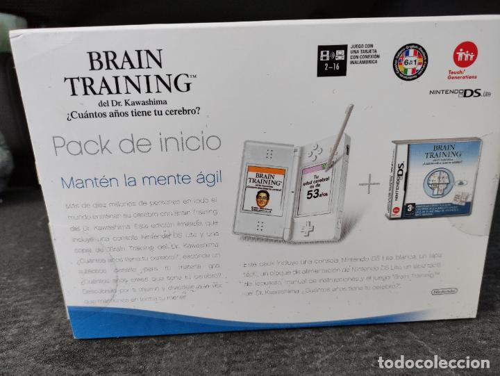 Videojuegos y Consolas: Consola nintendo ds lite Pack Inicio sellada Nueva a estrenar sealed new brain training - Foto 5 - 247401990