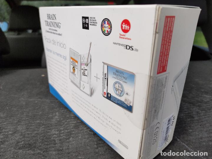Videojuegos y Consolas: Consola nintendo ds lite Pack Inicio sellada Nueva a estrenar sealed new brain training - Foto 6 - 247401990