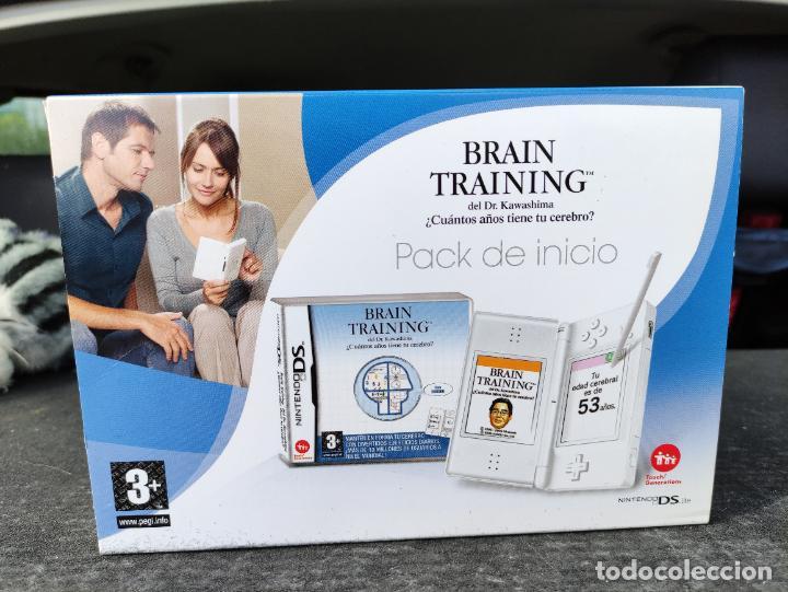 CONSOLA NINTENDO DS LITE PACK INICIO SELLADA NUEVA A ESTRENAR SEALED NEW BRAIN TRAINING (Juguetes - Videojuegos y Consolas - Nintendo - DS)