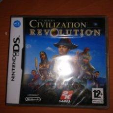 Videojuegos y Consolas: NINTENDO DS CIVILATION REVOLUTION NUEVO Y PRECINTADO. Lote 249320375