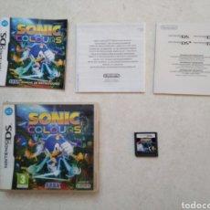 Videojuegos y Consolas: SONIC COLOURS NINTENDO DS SEGA. Lote 250243445