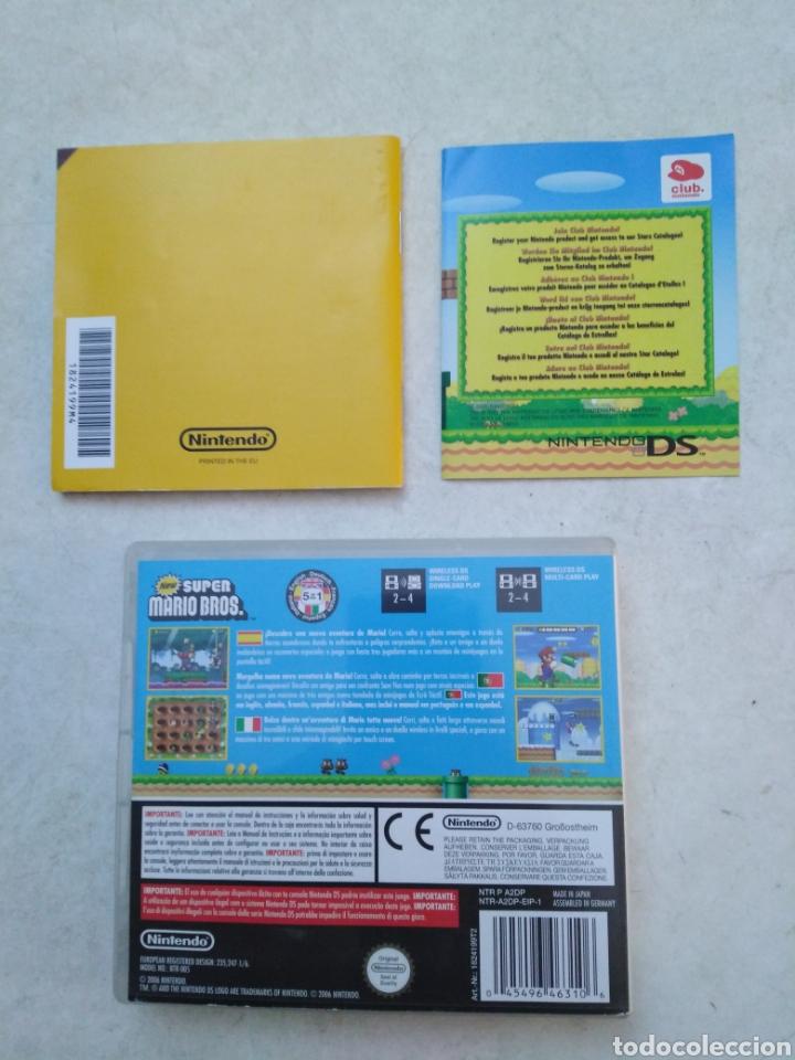 Videojuegos y Consolas: New Súper Mario bros Nintendo ds ( CAJA VACÍA + LIBRO ) - Foto 2 - 251419985