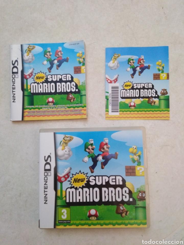 NEW SÚPER MARIO BROS NINTENDO DS ( CAJA VACÍA + LIBRO ) (Juguetes - Videojuegos y Consolas - Nintendo - DS)
