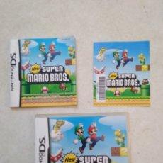 Videojuegos y Consolas: NEW SÚPER MARIO BROS NINTENDO DS ( CAJA VACÍA + LIBRO ). Lote 251419985