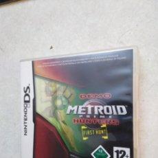 Videojuegos y Consolas: DEMO METROID PRIME HUNTERS NINTENDO DS. Lote 251420500