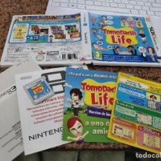 Videojuegos y Consolas: OCASION COLECCIONISTAS JUEGO COMPLETO CAJA MANUAL NINTENDO DS TOMODACHI LIFE 3DS. Lote 251647595