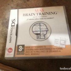 Videojuegos y Consolas: MAS BRAIN TRAINING DR KAWASHIMA NDS NINTENDO DS VIDEOJUEGO. Lote 251787290