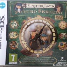 Jeux Vidéo et Consoles: NINTENDO DS EL PROFESOR LAYTON Y EL FUTURO PERDIDO. Lote 252102240