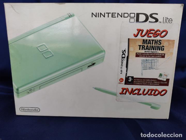 Videojuegos y Consolas: Consola Nintendo DS Lite Verde Lima 2008 nuevo a estrenar - Foto 2 - 252838020