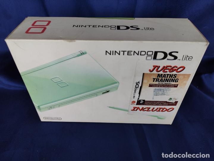 Videojuegos y Consolas: Consola Nintendo DS Lite Verde Lima 2008 nuevo a estrenar - Foto 3 - 252838020
