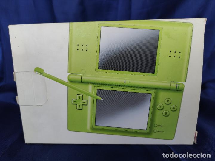 Videojuegos y Consolas: Consola Nintendo DS Lite Verde Lima 2008 nuevo a estrenar - Foto 5 - 252838020