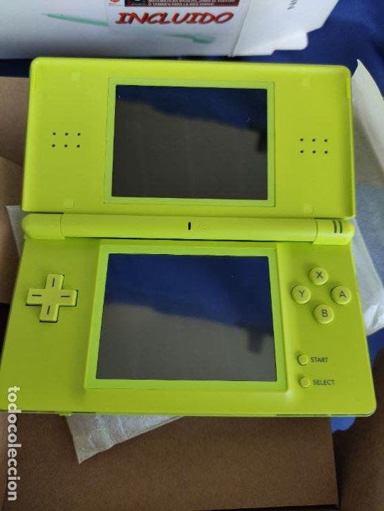 Videojuegos y Consolas: Consola Nintendo DS Lite Verde Lima 2008 nuevo a estrenar - Foto 6 - 252838020