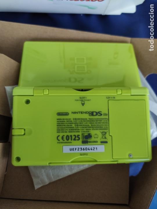 Videojuegos y Consolas: Consola Nintendo DS Lite Verde Lima 2008 nuevo a estrenar - Foto 8 - 252838020