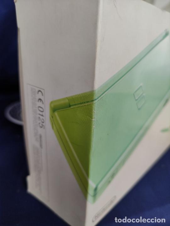 Videojuegos y Consolas: Consola Nintendo DS Lite Verde Lima 2008 nuevo a estrenar - Foto 9 - 252838020