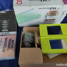 Videojuegos y Consolas: CONSOLA NINTENDO DS LITE VERDE LIMA 2008 NUEVO A ESTRENAR. Lote 252838020