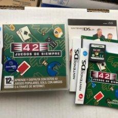 Videojuegos y Consolas: 42 JUEGOS DE SIEMPRE NINTENDO DS NDS KREATEN. Lote 289900418