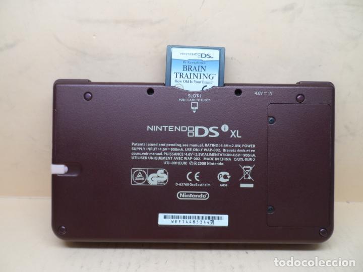 Videojuegos y Consolas: CONSOLA NINTENDO DSI XL BUNGURDY (RED WINE) + CARGADOR - Foto 6 - 253701775