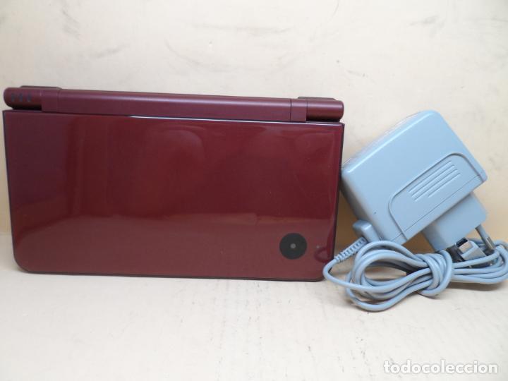 CONSOLA NINTENDO DSI XL BUNGURDY (RED WINE) + CARGADOR (Juguetes - Videojuegos y Consolas - Nintendo - DS)
