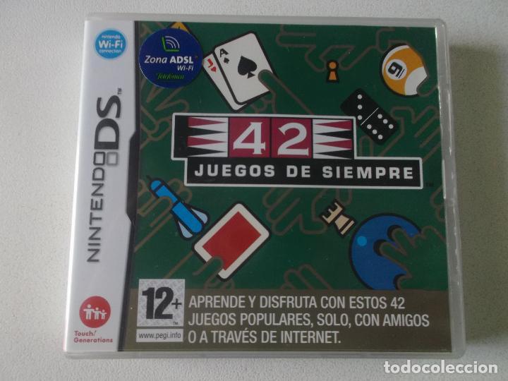 42 JUEGOS DE SIEMPRE NINTENDO DS NDS KREATEN COMPLETO, CASI NUEVO (Juguetes - Videojuegos y Consolas - Nintendo - DS)