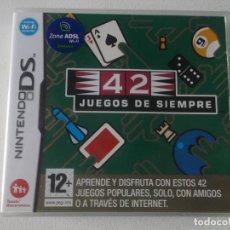 Videojuegos y Consolas: 42 JUEGOS DE SIEMPRE NINTENDO DS NDS KREATEN COMPLETO, CASI NUEVO. Lote 254168150